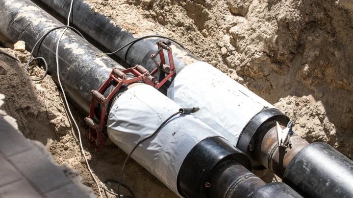 Горячую воду отключат в трех районах Ростова на две недели
