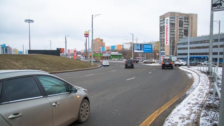 На кольце Московского шоссе и проспекта Кирова предложили нанести разметку-подсказку