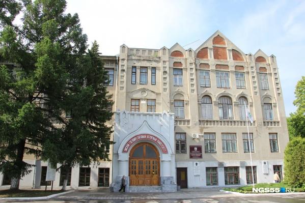 Здание аграрного университета напоминает сказочный замок