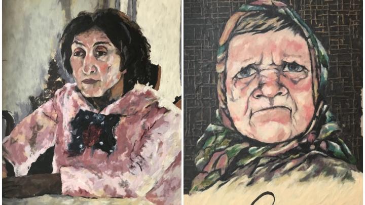Бабушка с персиками и 70-летняя Алёнка: екатеринбурженка «состарила» известные картины