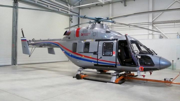 В Волгоградскую область поступил новейший вертолёт санавиации «Ансат»