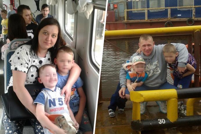 Трагедия унесла жизни 39-летнего Андрея Шкляева, его жены Марины и их младшего сына