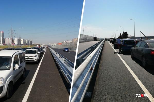 Сложнее всего проехать по Федюнинского и от Пермякова до конца новой развязки на Монтажников: там дорожники проводят ремонтные работы<br><br>