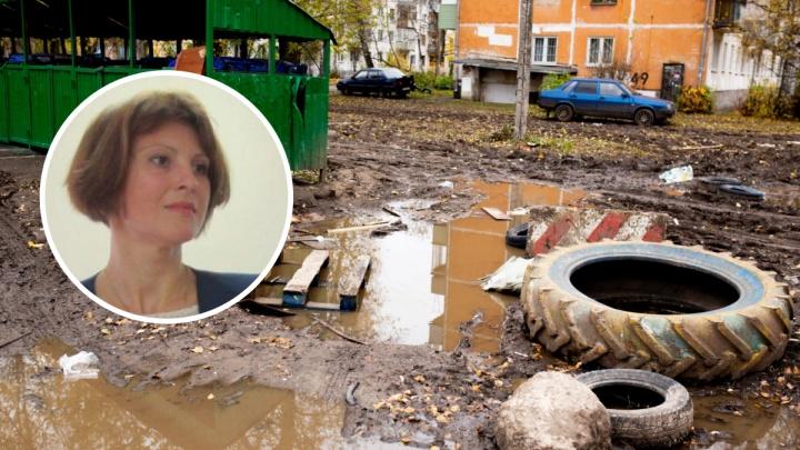Власти не нашли подходящих слов для утопающих в грязи жителей Брагино