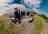 Тонем в болоте и взбираемся на гору: тест-драйв огромного вездехода по уральскому бездорожью. Видео