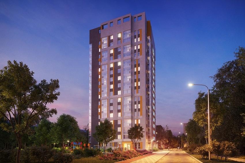 С верхних этажей комплекса будет открываться вид на центр города