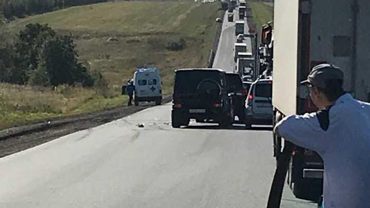 Мгновенная кара: под Уфой лихач на Toyota врезался в машину скорой