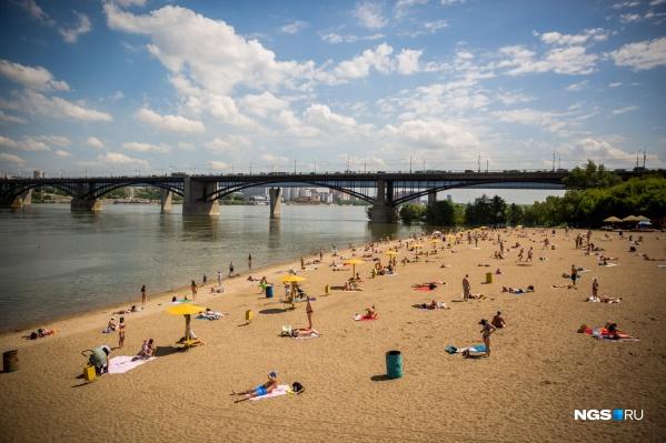 Новосибирцам разрешат купаться на пяти пляжах, в том числе на«Наутилусе»