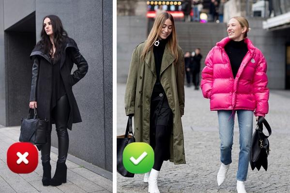 Сможете с ходу сказать, что не так с образом девушки слева?