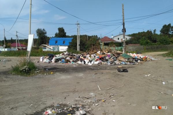 Так выглядят сейчас улицы в частном секторе Екатеринбурга