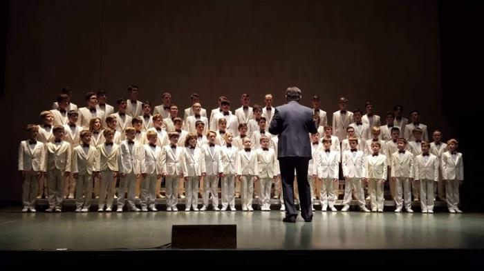 Хор мальчиков и юношей детской филармонии