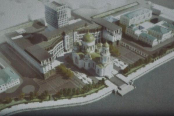 Одна из выбранных площадок — территория Приборостроительного завода