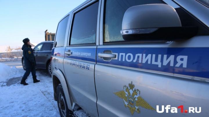 В Башкирии полицейский УАЗ столкнулся с автомобилем Volkswagen