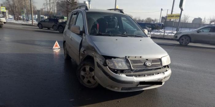Авария произошла в 16:20