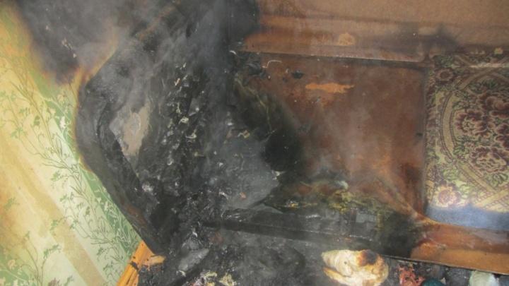В Башкирии из-за непогашенной сигареты погибла женщина