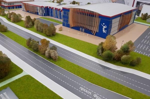 Волейбольный дворец хотят построить на проспекте Фрунзе