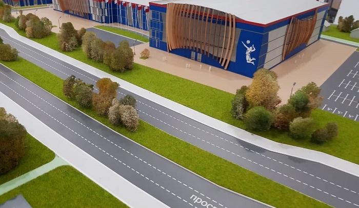 С зоной спа и бассейном: губернатор расхвалил волейбольный дворец, который могут не построить