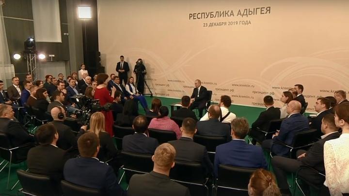 Директор отеля «Голубино» рассказала Владимиру Путину о проблемах сельского туризма в Поморье