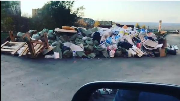 Остров Сахалин Октябрьского района: экс-кавээнщик — о свалке на Пятой просеке