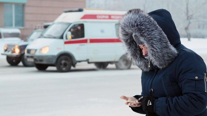 Морозы отступили, но не для всех: в Челябинске за сутки восемь человек получили обморожения