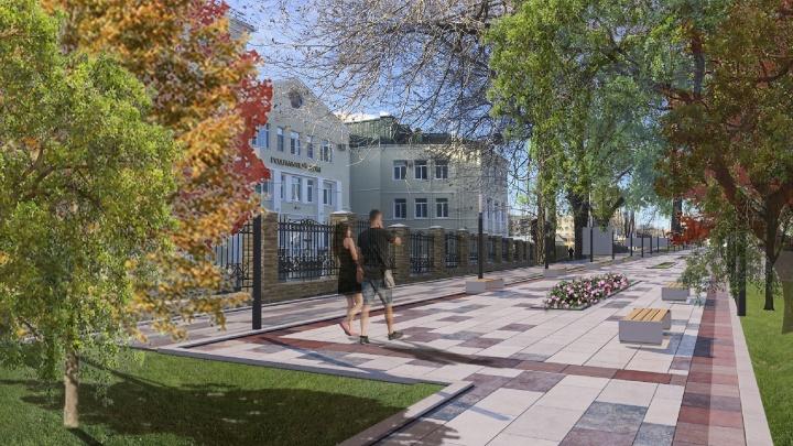 Высадят деревья и установят камеры: сквер за 39 миллионов сделают возле больницы №7 Волгограда