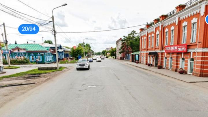 На улице Гусарова нанесли двойную сплошную у поворота на Булатова