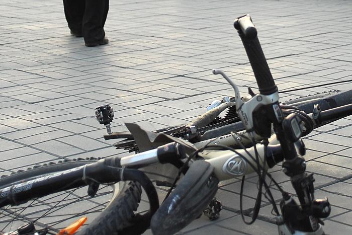 В Новосибирске объявилось несколько банд, специализирующихся на кражах велосипедов —две группы уже задержаны