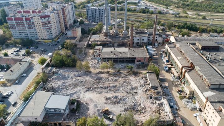 На месте волгоградского метизного завода построят высотки и торгово-развлекательный центр