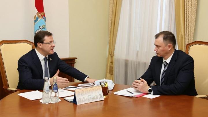 Глава администрации Азарова возглавил Жигулевск и получил подарок с намёком