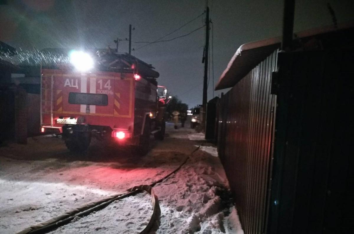 Спасатели локализовали пламя в 05:19