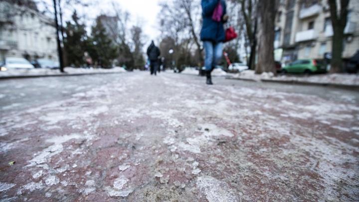 На севере Ростовской области сохранятся гололед и изморозь