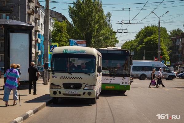 Маршрутки заменят большими автобусами