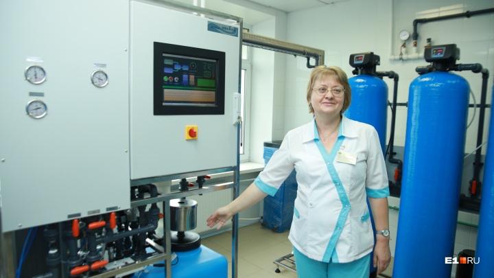 «Работает круглые сутки»: в 40-й больнице запустили новый диализный завод