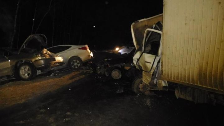 Массовое ДТП на М-5 и смертельный наезд: трагедии минувших выходных