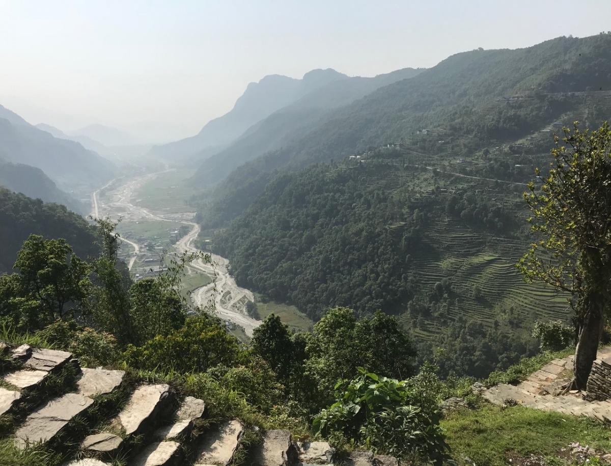 В Непал Марина сразу влюбилась