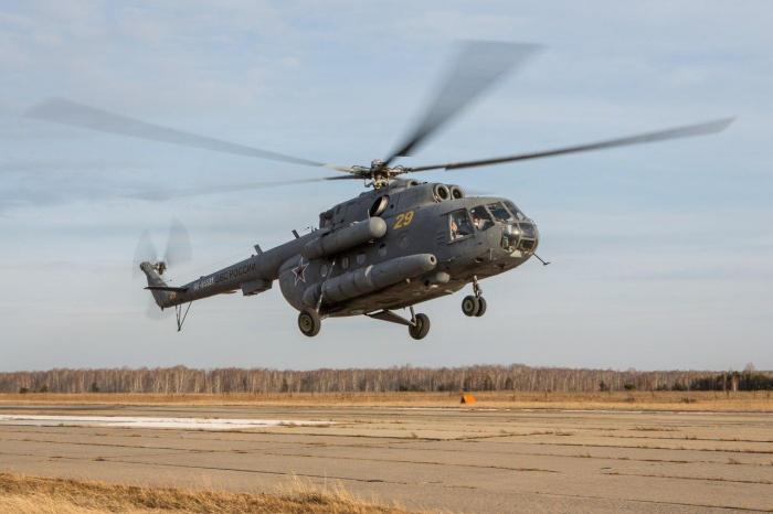 Вертолет позволит обследовать большую территорию за непродолжительное время