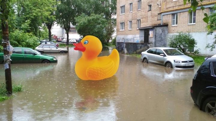 От Объездной до Уралмаша: изучаем карту гигантских луж Екатеринбурга