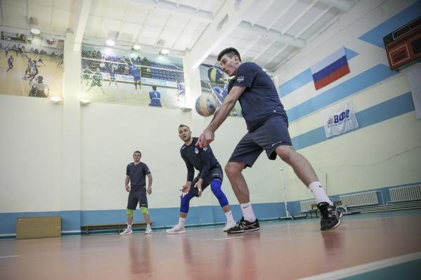 Волейбольный матч пройдет впервые