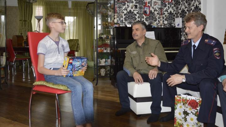 Школьник из Берёзовского снял Lego-мультик про борьбу с преступниками