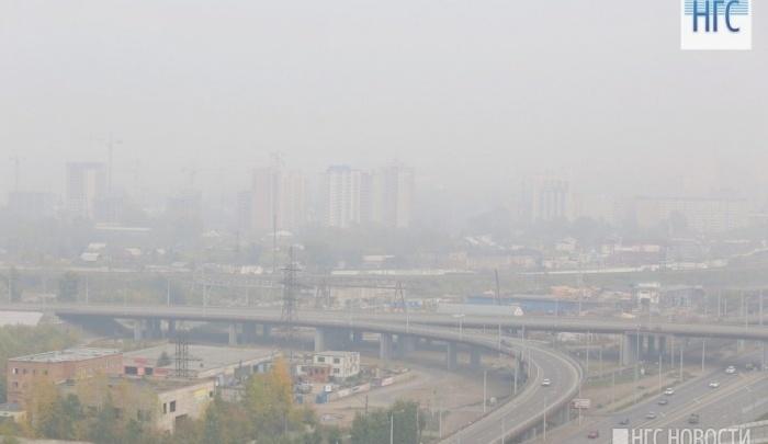 Первый раз за 4 месяца в Красноярске объявлен режим «черного неба»