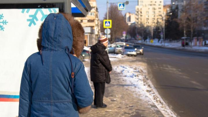 Самарцы проследили, с каким интервалом ходят автобусы на Красной Глинке
