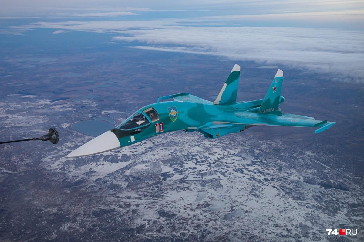 До конца 2019 года в авиационный полк под Челябинском поступит еще шесть Су-34