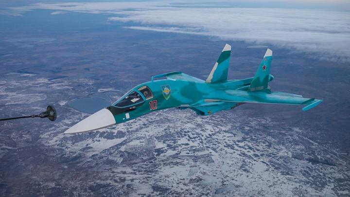 Авиабаза в Челябинске пополнится новыми бомбардировщиками Су-34