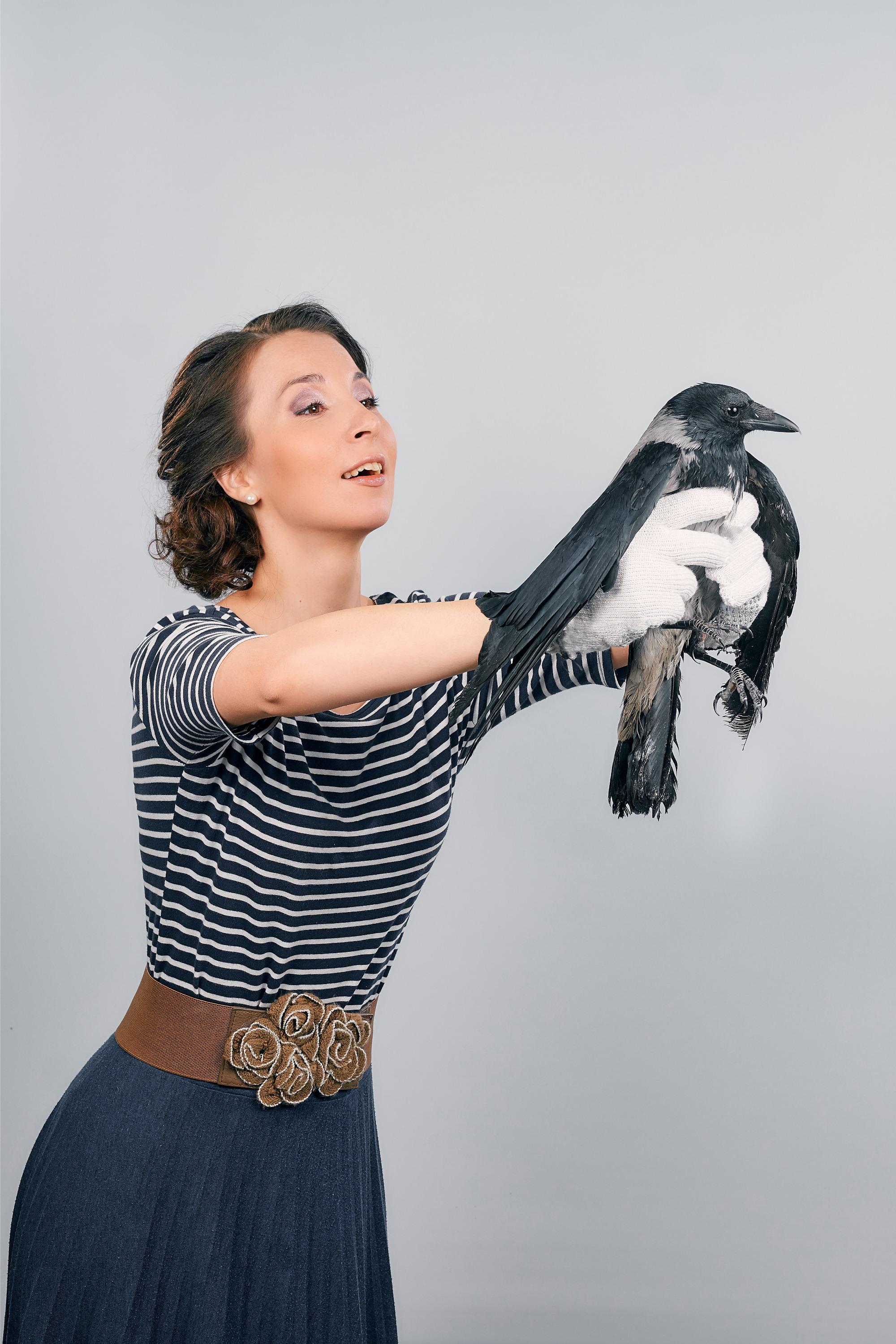 ВероникаМедведева с вороном