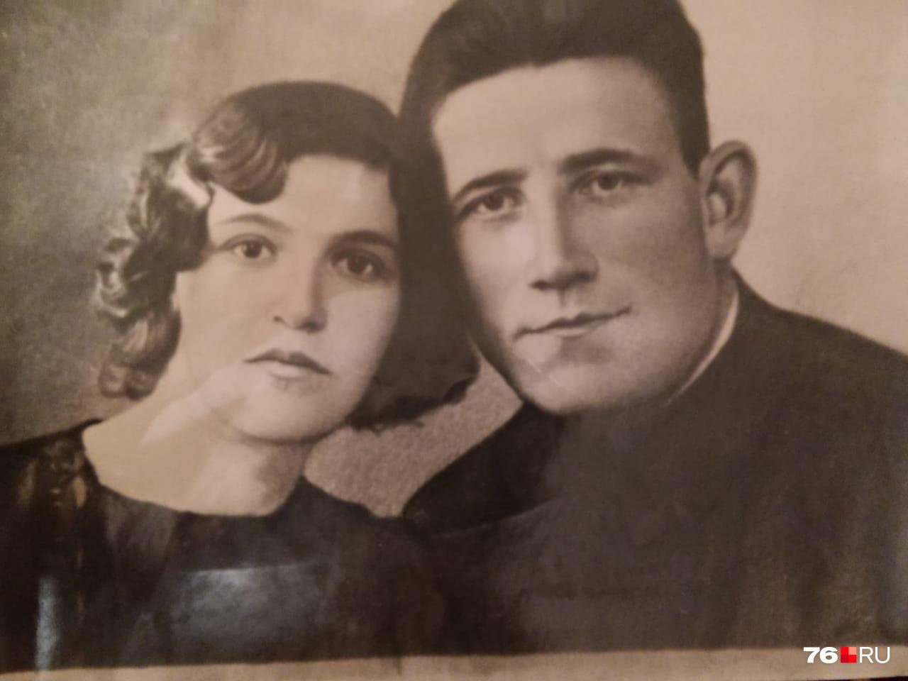 Пётр Петрович вместе с женой Екатериной