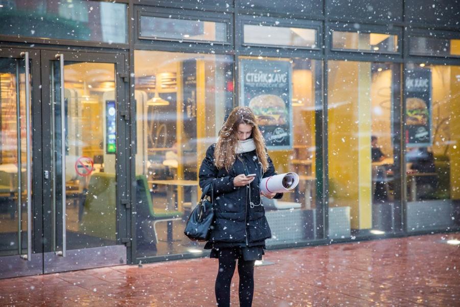 МЧС предупреждает оснеге исильном ветре вНовосибирске