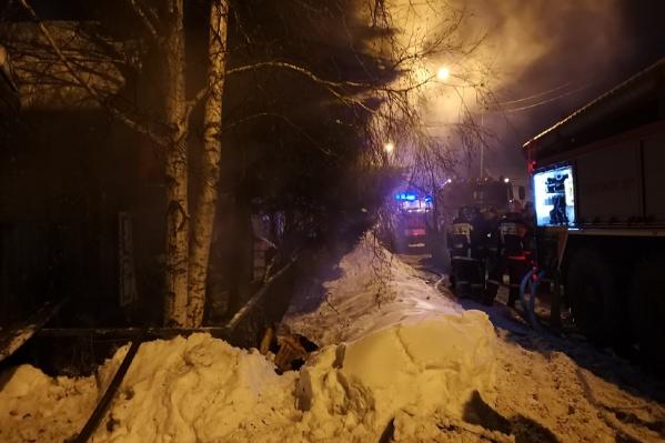 Для соседей погибших пожар стал настоящим потрясением