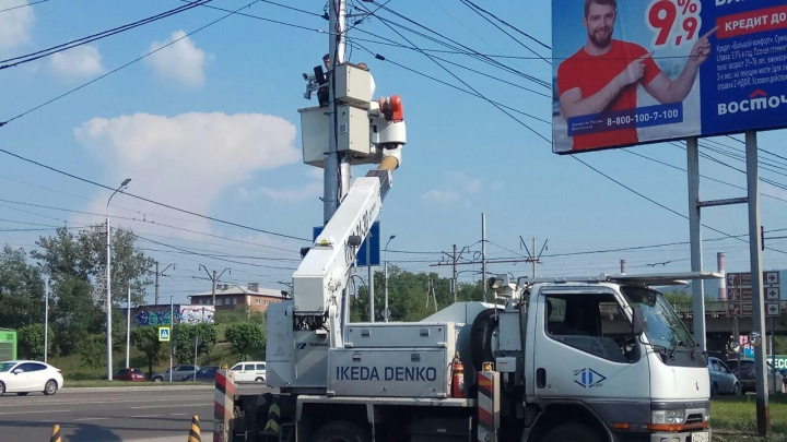 Прямо сейчас в Красноярске устанавливают новые камеры фиксации нарушений. Когда придут штрафы