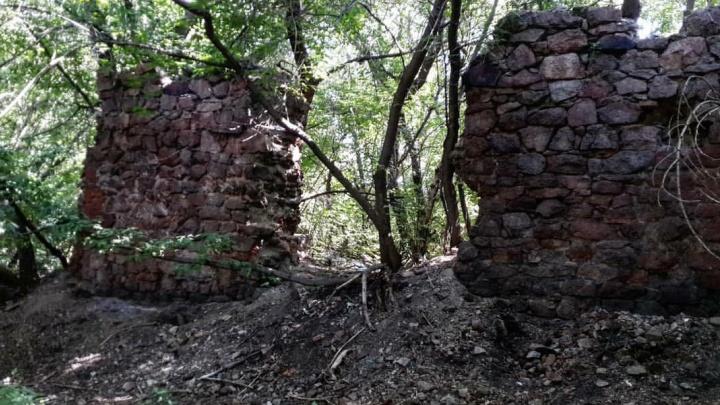 Новосибирец нашел на левом берегу Оби руины древнего винного завода