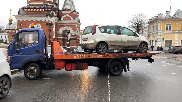 Гаишники устроят облаву на водителей в центре Ярославля
